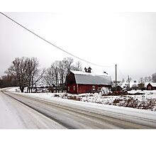 Rural Winter Photographic Print