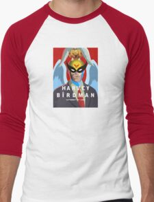 BiRDMAN Men's Baseball ¾ T-Shirt