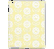 Cream Fun Smiling Cartoon Flowers iPad Case/Skin