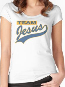 "Christian ""Team Jesus"" Women's Fitted Scoop T-Shirt"