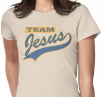 """Christian """"Team Jesus"""" Womens Fitted T-Shirt"""