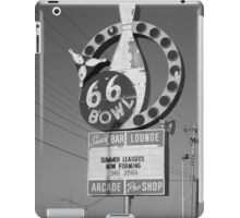 Route 66 Bowl iPad Case/Skin