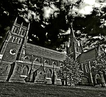 Reach For The Heavens- St Mary Geelong by shadesofcolor