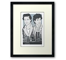 The Pope Of Greenwich Village Framed Print