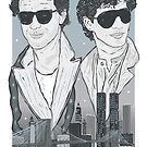 The Pope Of Greenwich Village (Sunglasses Variant) by Michael Donnellan