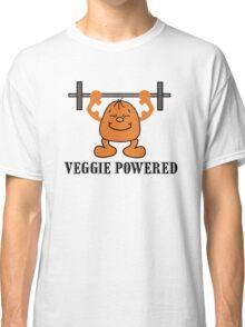 """Vegetarian """"Veggie Powered"""" T-Shirt Classic T-Shirt"""