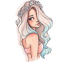 Mermaid Hair Photographic Print