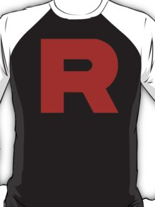 Pokemon - Team Rocket Logo T-Shirt