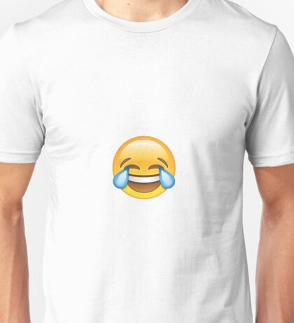 Laughing Emoji Unisex T-Shirt