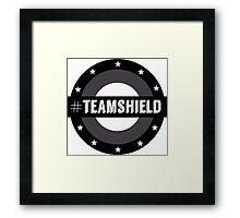 #TeamSHIELD Framed Print