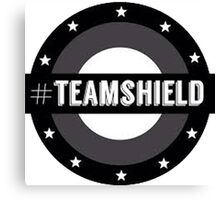 #TeamSHIELD Canvas Print