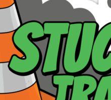 Stuck in traffic Sticker