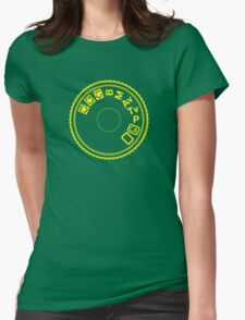 Camera Mode Dial Womens Fitted T-Shirt