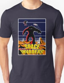 Invaders from space Unisex T-Shirt