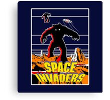 Invaders from space Canvas Print