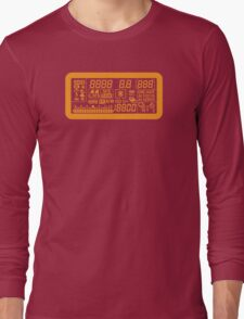 Canon Camera LCD panel Long Sleeve T-Shirt