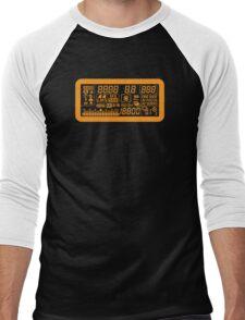 Canon Camera LCD panel Men's Baseball ¾ T-Shirt