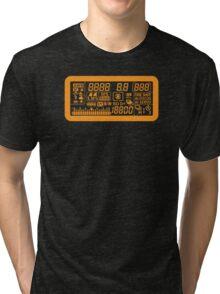 Canon Camera LCD panel Tri-blend T-Shirt