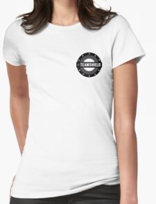 Small #TeamSHIELD Womens Fitted T-Shirt