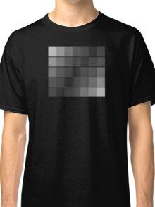 greyscale blocks Classic T-Shirt