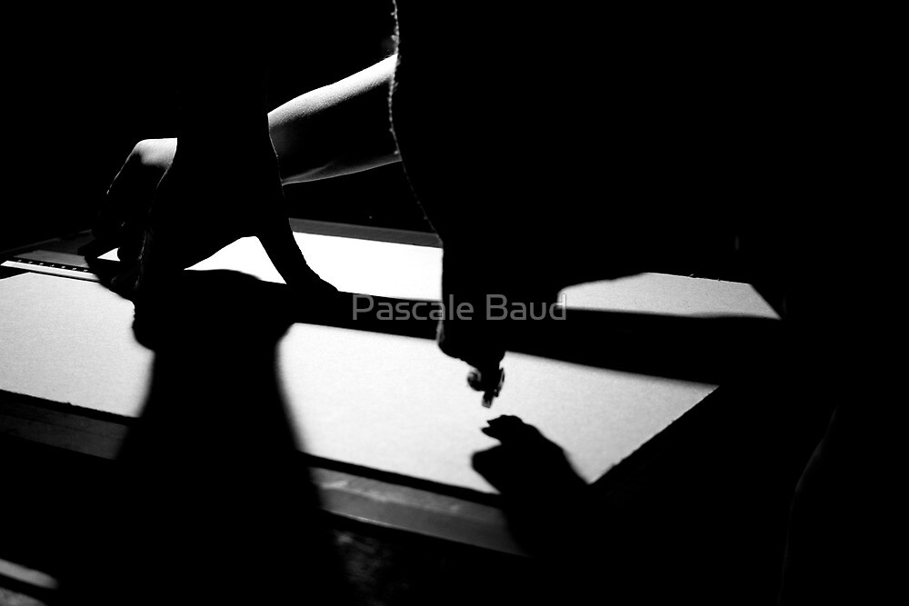 Cutting for a book by Pascale Baud