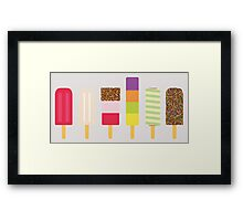 Lolly Collection Framed Print