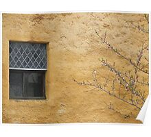 Gable end window Poster