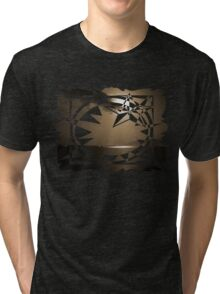 smooth sepia moonlight Tri-blend T-Shirt