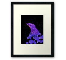 Crowing Geometric Framed Print