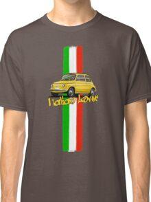 Fiat 500 Italian Lover Classic T-Shirt