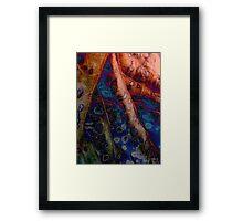 REPTILE SKIN  Framed Print