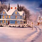 """Evening Snow"" by John Shull"