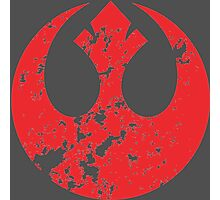 Rebel Alliance Emblem Photographic Print