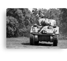 WW2 Sherman Tank Canvas Print