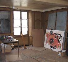 Bernard Lacoque-Studio (downstairs) by ArtLacoque