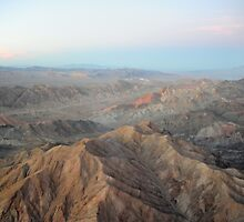 Remaining Light - Past Lake Mead, Before Canyon. by Mark James
