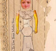 Anatomy of a doll 3 by Thelma Van Rensburg