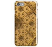 Sandy dodecahedral gasket iPhone Case/Skin