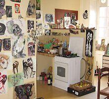 Bernard Lacoque-Studio (upstairs) by ArtLacoque