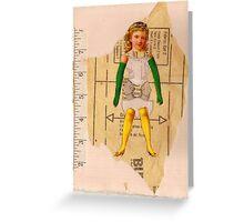 Anatomy of a doll 7 Greeting Card
