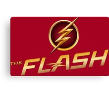 The Flash Fastest Man Alive Canvas Print