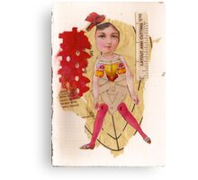 Anatomy of a doll 11 Canvas Print