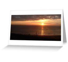 Sunrise on Ramsgate Greeting Card