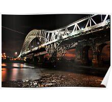 WIDNES RUNCORN BRIDGE Poster
