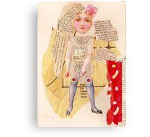Anatomy of a doll 13 Canvas Print