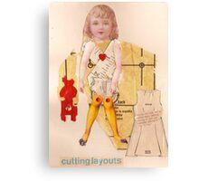 Anatomy of a doll 15 Canvas Print