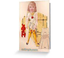 Anatomy of a doll 15 Greeting Card