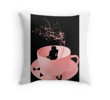 CUP'N SPLASH THROW PILLOW-GET ONE MAKE A STATEMENT Throw Pillow