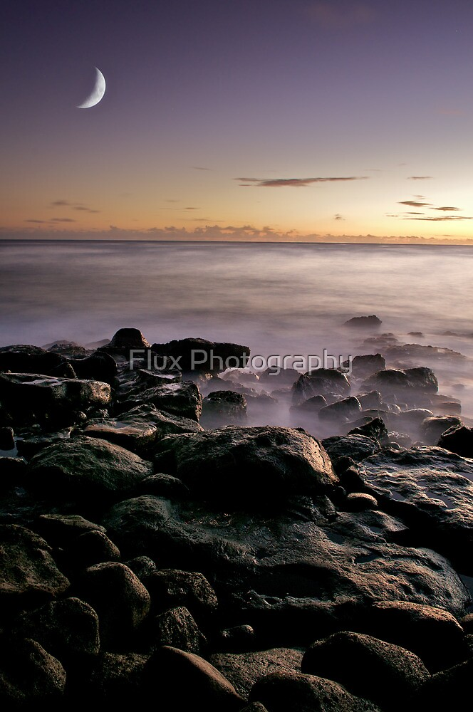 sunset in kauai by Flux Photography