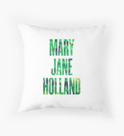 Mary Jane Holland Throw Pillow